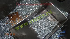 алюминиевая заклёпка под молоток с плоской головкой